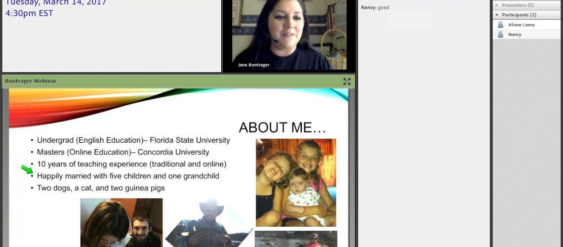 image of online homeschool class